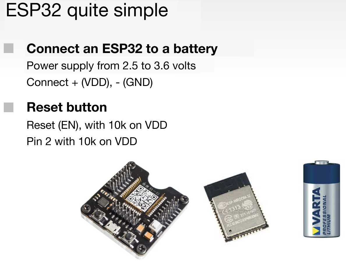 Battery-Powered ESP32 | RadioShuttle Network Protocol